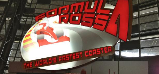 Formula Rossa à Abu Dhabi